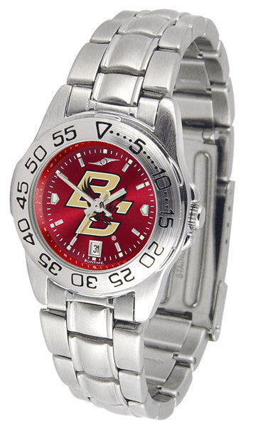 Boston College Eagles Womens Sport Steel Anochrome Watch