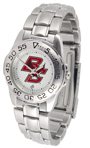 Boston College Eagles Womens Steel Sports Watch