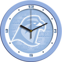 Bowling Green Falcons Blue Wall Clock