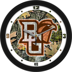 Bowling Green Falcons Camo Wall Clock
