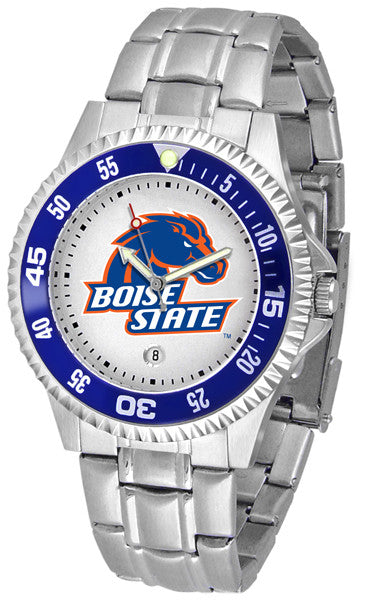 Boise State Broncos Competitor Steel Watch