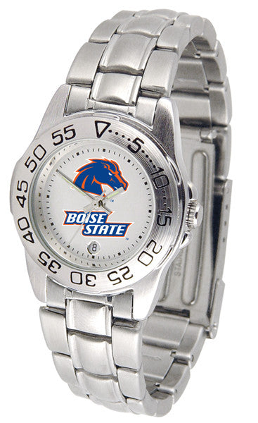 Boise State Broncos Womens Steel Sports Watch