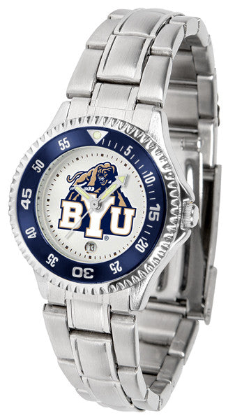 BYU Cougars Womens Competitor Steel Watch