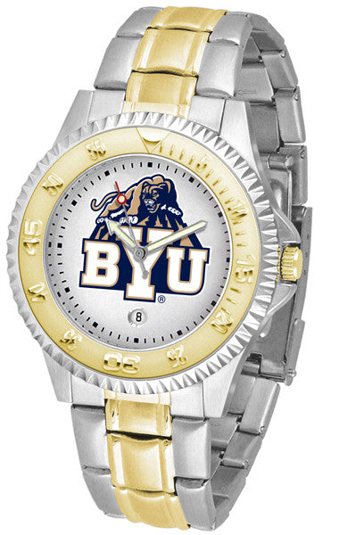 BYU Cougars Competitor Two Tone Watch