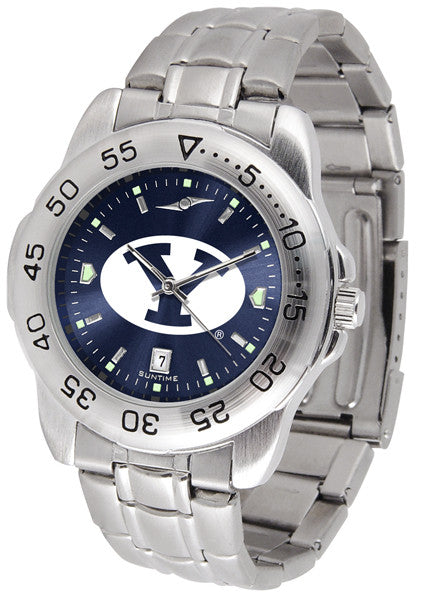 BYU Cougars Sport Steel Anochrome Watch