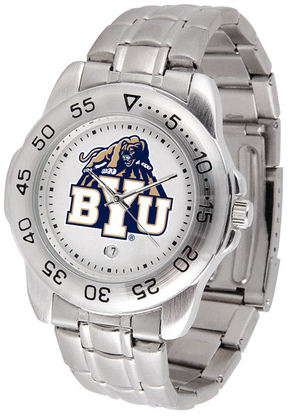 BYU Cougars Steel Sports Watch
