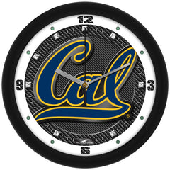 California Golden Bears Carbon Fiber Wall Clock