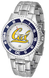 California Golden Bears Competitor Steel Watch