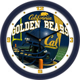 California Golden Bears Football Helmet Wall Clock
