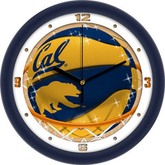 California Golden Bears Slam Dunk Wall Clock