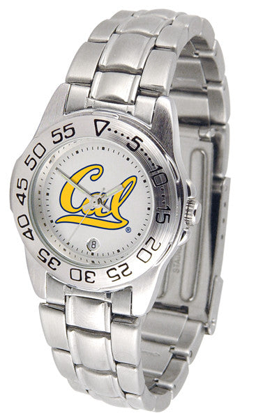 California Golden Bears Womens Steel Sports Watch