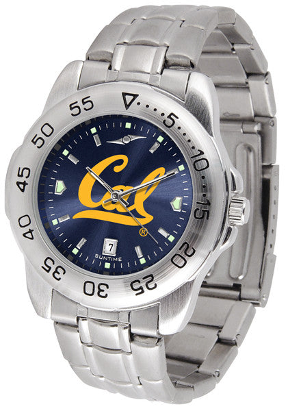 California Golden Bears Sport Steel Anochrome Watch