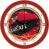 Cincinnati Bearcats Slam Dunk Wall Clock