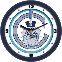 Citadel Bulldogs Traditional Wall Clock