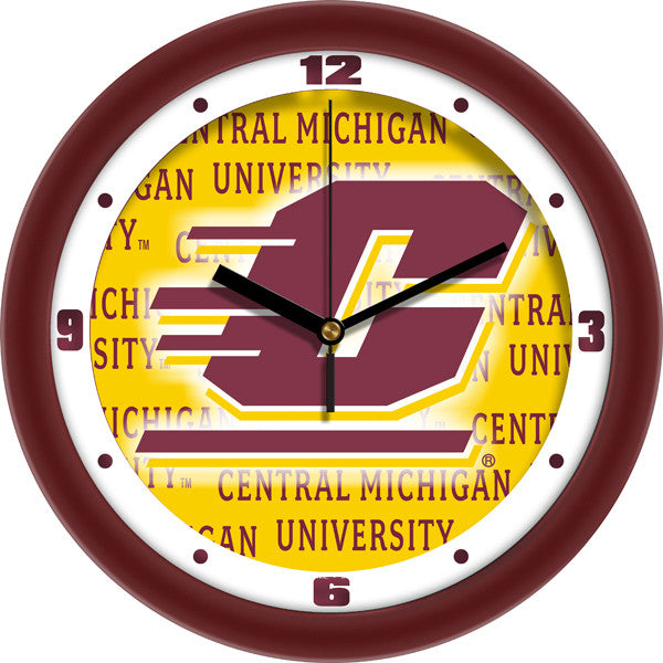 Central Michigan Chippewas Dimension Wall Clock