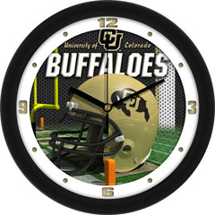 Colorado Buffaloes Football Helmet Wall Clock