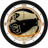 Colorado Buffaloes Slam Dunk Wall Clock