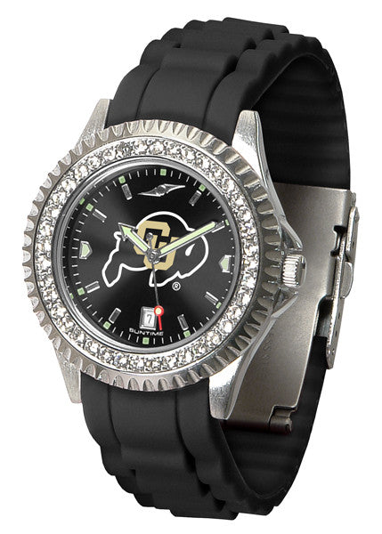 Colorado Buffaloes Womens Sparkle Watch