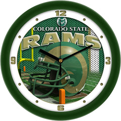 Colorado State Rams Football Helmet Wall Clock