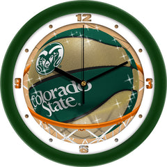 Colorado State Rams Slam Dunk Wall Clock
