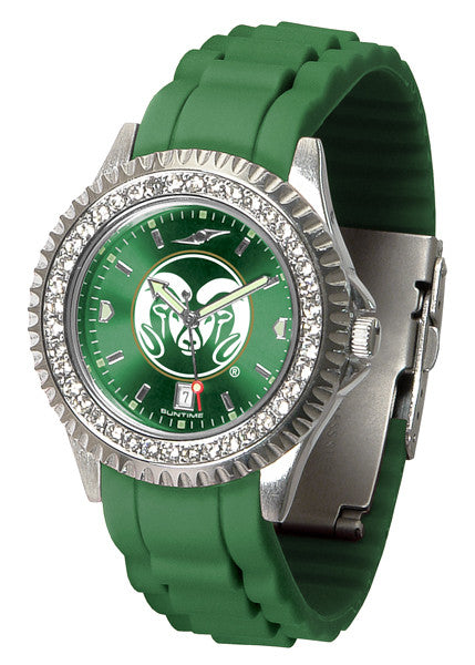 Colorado State Rams Womens Sparkle Watch