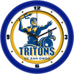 UC San Diego Tritons Traditional Wall Clock