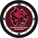 Central Washington Wildcats Dimension Wall Clock