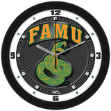 Florida A&M Rattlers Carbon Fiber Wall Clock