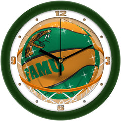 Florida A&M Rattlers Slam Dunk Wall Clock