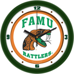 Florida A&M Rattlers Traditional Wall Clock
