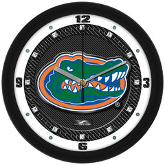 Florida Gators Carbon Fiber Wall Clock