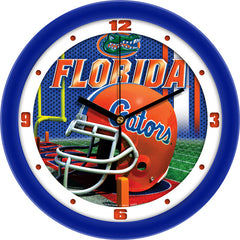Florida Gators Football Helmet Wall Clock