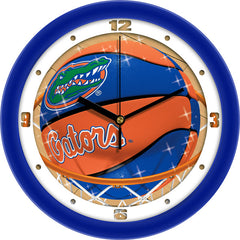 Florida Gators Slam Dunk Wall Clock