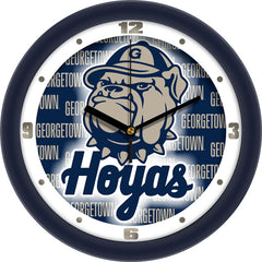 Georgetown Hoyas Dimension Wall Clock