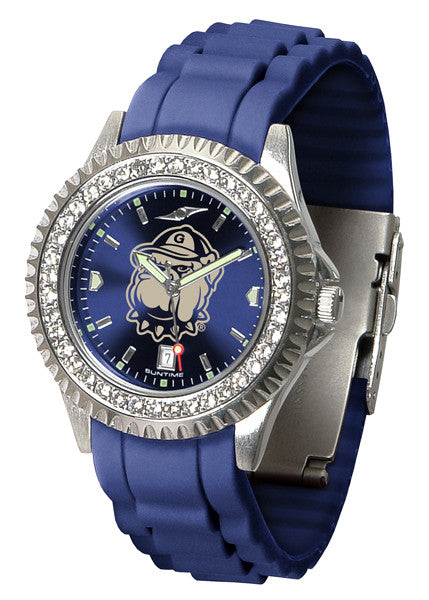 Georgetown Hoyas Womens Sparkle Watch