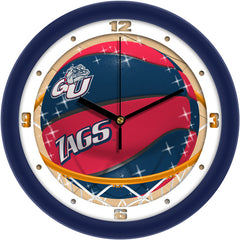Gonzaga Bulldogs Slam Dunk Wall Clock
