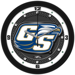 Georgia Southern Eagles Carbon Fiber Wall Clock