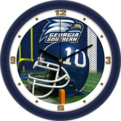 Georgia Southern Eagles Football Helmet Wall Clock