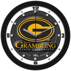 Grambling State Tigers Carbon Fiber Wall Clock