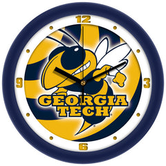 Georgia Tech Yellow Jackets Dimension Wall Clock
