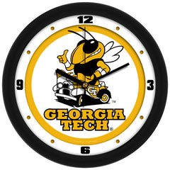 Georgia Tech Yellow Jackets Traditional Wall Clock