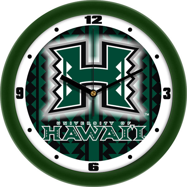 Hawaii Warriors Dimension Wall Clock