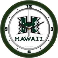 Hawaii Warriors Traditional Wall Clock
