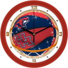 Houston Cougars Slam Dunk Wall Clock