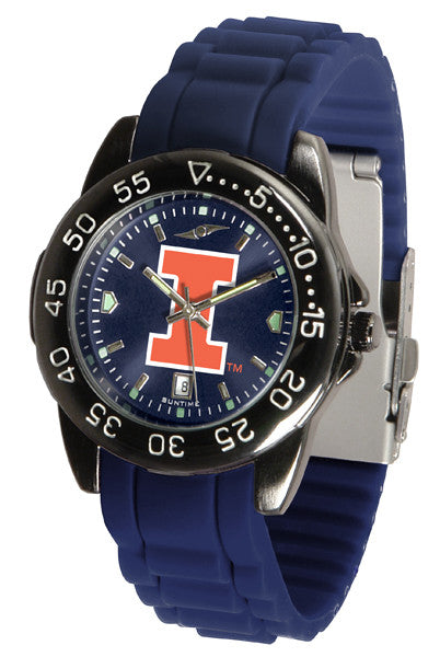Illinois Fighting Illini Fantom Sport AC Anochrome Watch