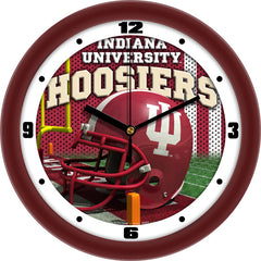 Indiana Hoosiers Football Helmet Wall Clock