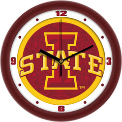 Iowa State Cyclones Dimension Wall Clock