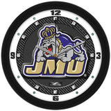 James Madison Dukes Carbon Fiber Wall Clock