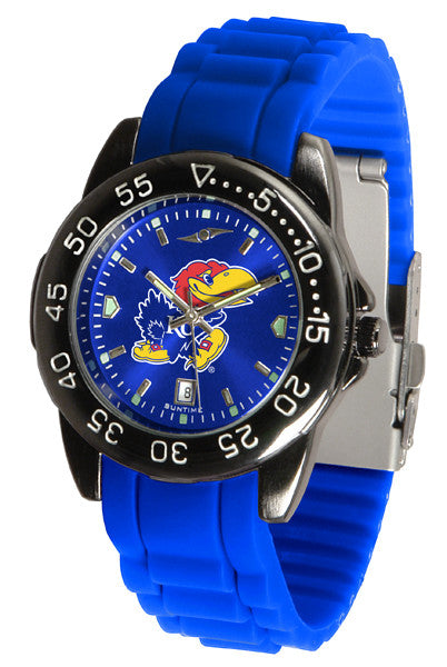 Kansas Jayhawks Fantom Sport AC Anochrome Watch