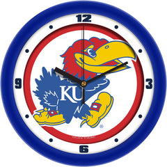 Kansas Jayhawks Traditional Wall Clock